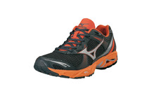 MIZUNO Men&#039;s Wave Ovation 2 noir sombre anthracite ambre